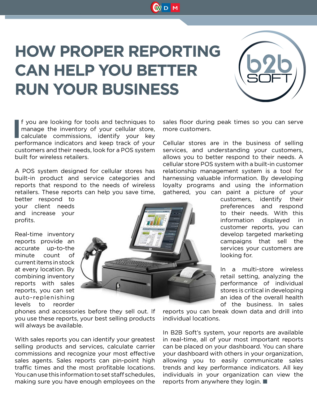 How Proper Reporting Can Help You Better Run Your Business