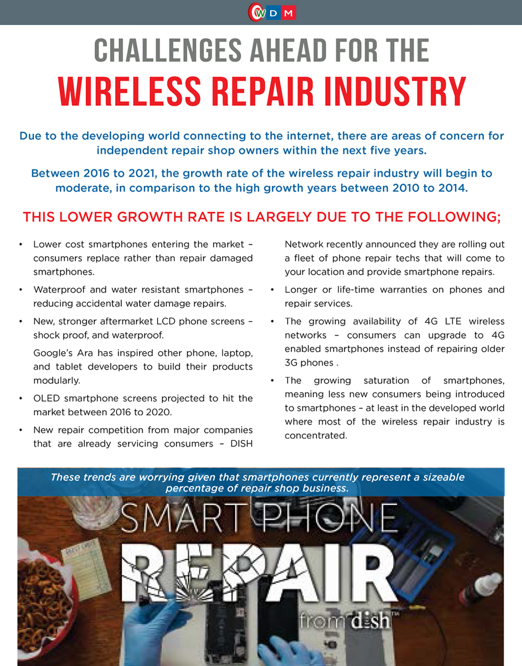 Challenges Ahead for the Wireless Repair Industry