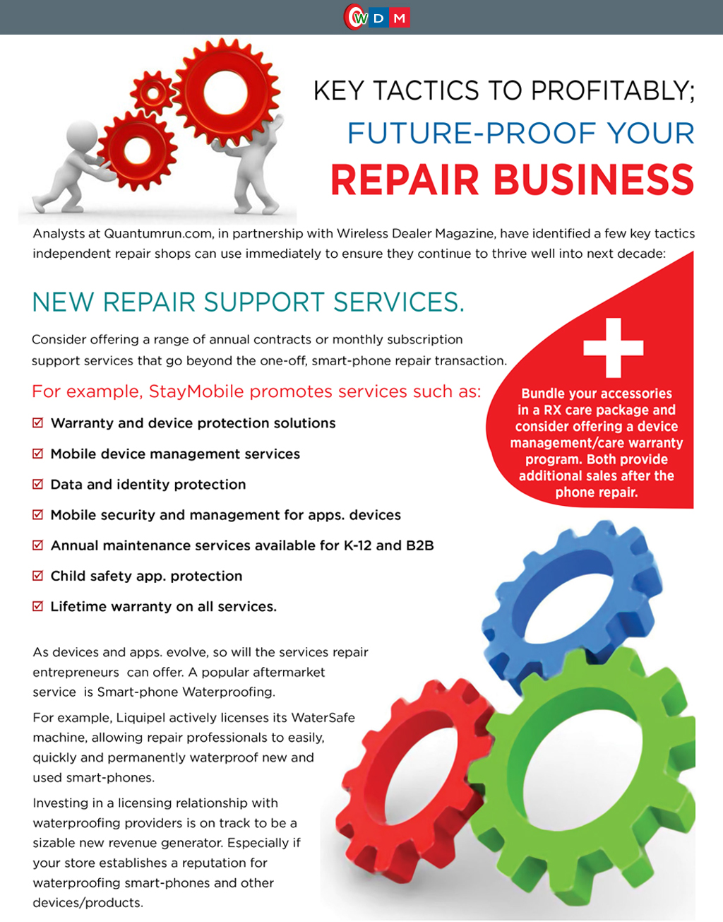 Key Tactics to Profitably: Future-Proof Your Repair Business